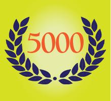 5000 investigations
